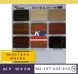 Distributor Acp Seven Harga Murah Perlembar Ukuran 122 x 244 Tebal 4mm Warna Glossy