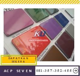 Acp Seven Murah Ready Stock Untuk PVDF Eksterior Warna Doff Dan Glossy